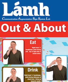 Lámh Signs Poster for Out and About
